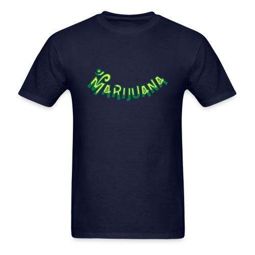 Om Marijuana - Men's T-Shirt