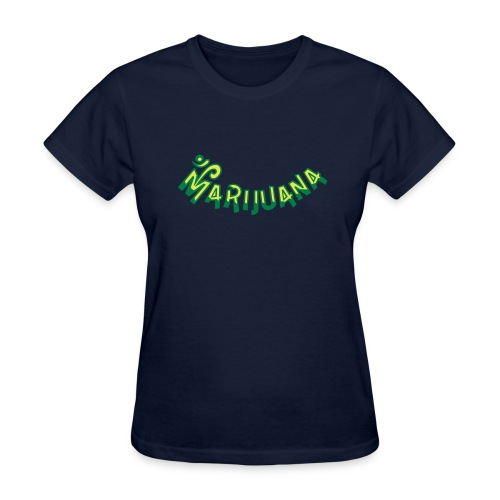 Om Marijuana - Women's T-Shirt