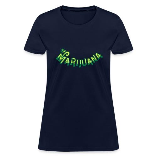 Om Marijuana - Women's T-Shirt