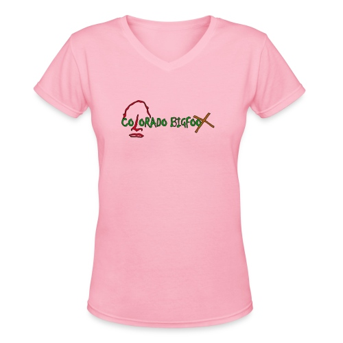 1 in Pinky 4 in Stinky - Women's V-Neck T-Shirt