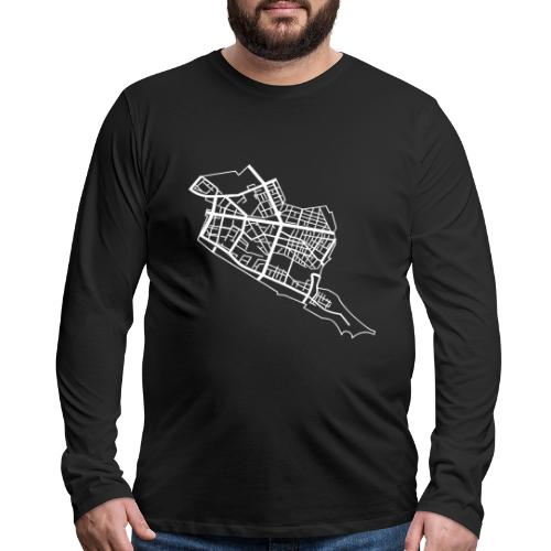 Friedrichshain Berlin - Men's Premium Long Sleeve T-Shirt