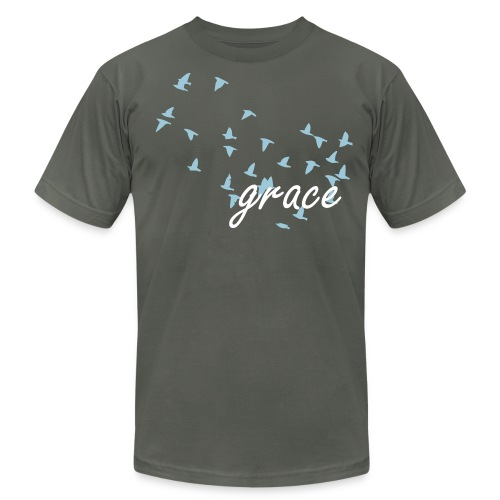 Grace - birds - Men's  Jersey T-Shirt