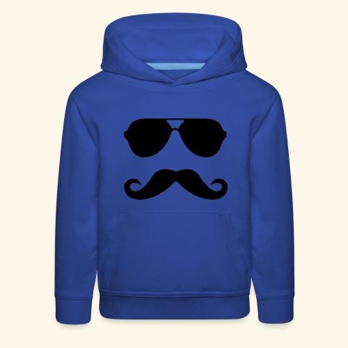 MUSTACHE PARTY - Kids' Premium Hoodie