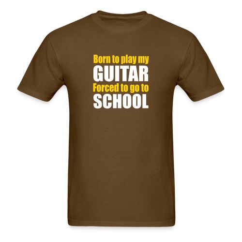 Born to play my guitar - Men's T-Shirt