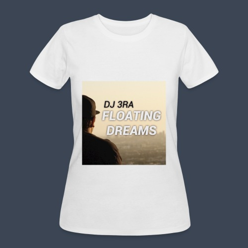 DJ 3RA - Floating Dreams Album Cover Women's 50/50 T-shirt (Jerseys Type) - Women's 50/50 T-Shirt