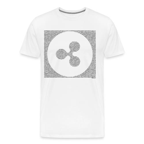 Binary XRP - Men's Premium T-Shirt