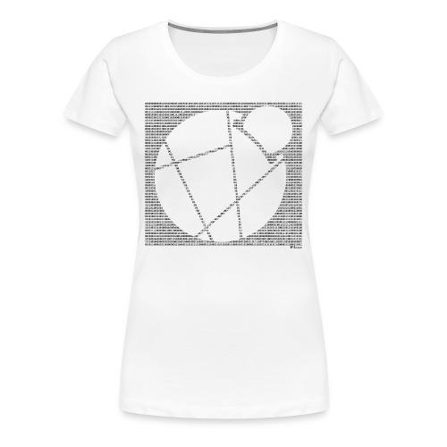 Binary Reddcoin - Women's Premium T-Shirt