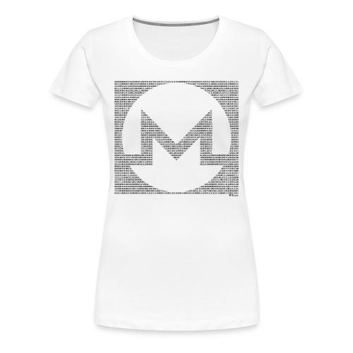 Binary Monero - Women's Premium T-Shirt