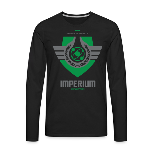 Imperium Crest - Exploration - Men's Premium Long Sleeve T-Shirt