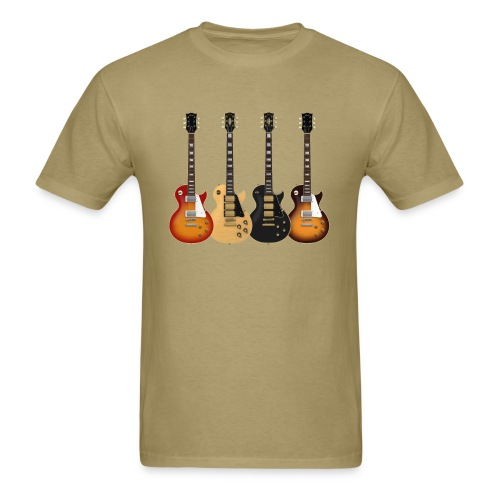 Four Les Pauls - Men's T-Shirt