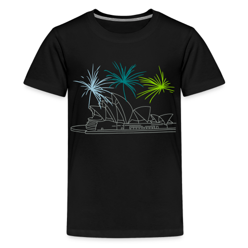 Fireworks at Opera house New Year's Eve in Sydney - Kids' Premium T-Shirt