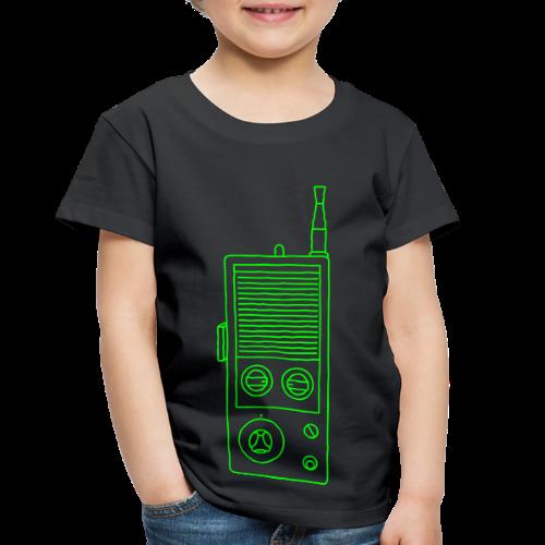 Walkie-Talkie Radio - Toddler Premium T-Shirt