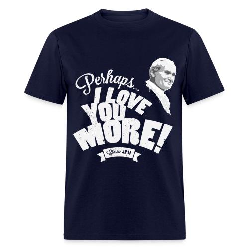Classic JPII Men's Tee (dark color) - Men's T-Shirt