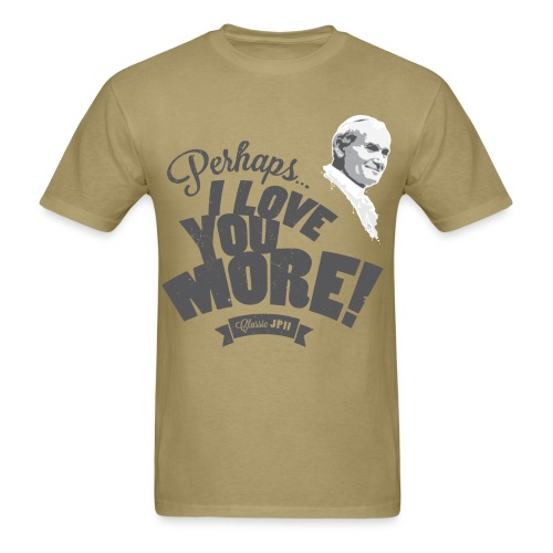 Classic JPII Men's Tee (light color) - Men's T-Shirt