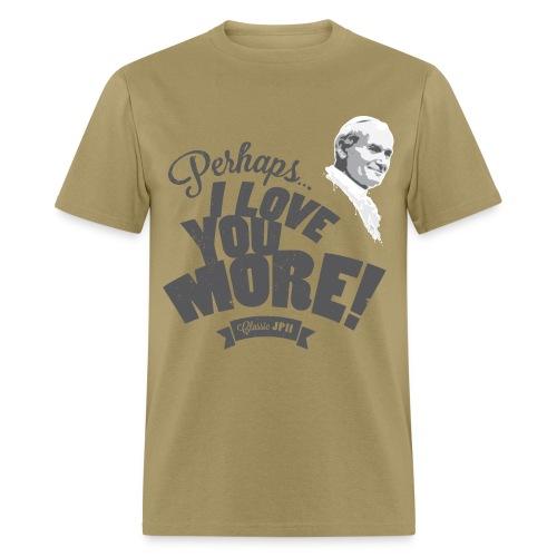Classic JPII Men's Tee (light color) - Men's T-Shirt