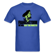 T-Shirts ~ Men's T-Shirt ~ FrankenStorm Hurricane Sandy Support Shirt