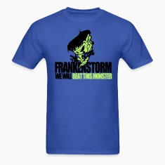 FrankenStorm Hurricane Sandy Support Shirt