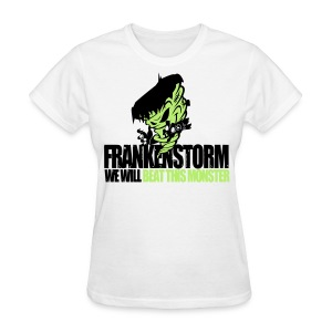 FrankenStorm Hurricane Sandy Support Shirt Womens - Women's T-Shirt