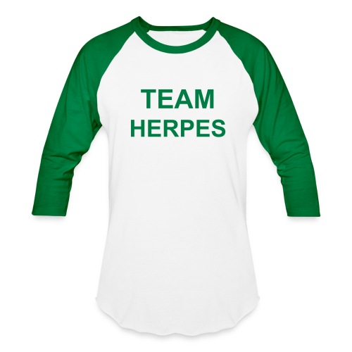 TEAM HERPES as worn by Britney Spears - Baseball T-Shirt