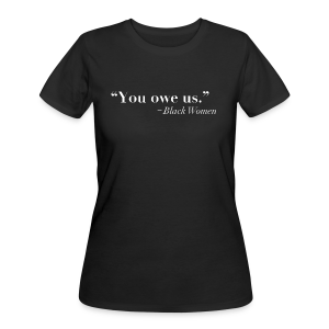 You Owe Us - Women's 50/50 T-Shirt