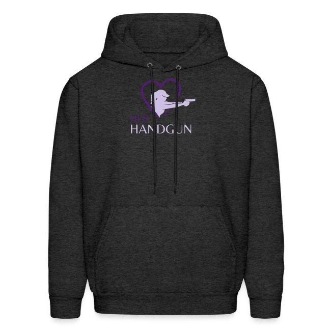 "HerHandgun 2-Tone Purple Logo - The ""Ashley"" Hoodie"