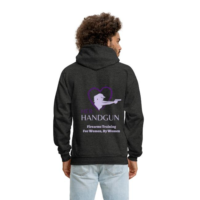"HerHandgun 2-Tone Purple Logo - The ""Ashley"" Hoodie"