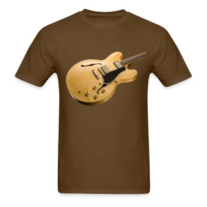 Natural ES-335 Guitar - Men's T-Shirt