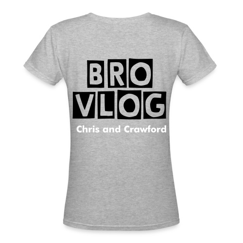 Brovlog - Women's V-Neck T-Shirt