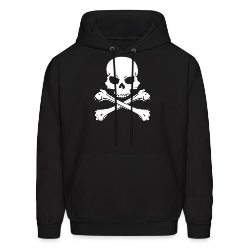 skull & crossbone hoodie - Men's Hoodie