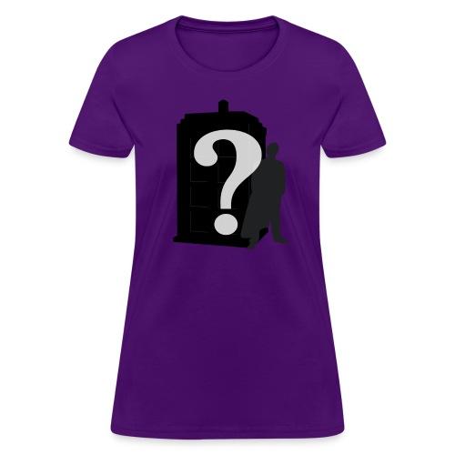 Doctor Who? Women's Fit - Women's T-Shirt