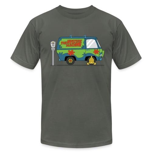 Mystery Machine Van Wheel Clamp - Men's Fine Jersey T-Shirt