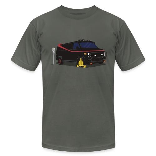 A-Team Van Wheel Clamp - Men's Fine Jersey T-Shirt
