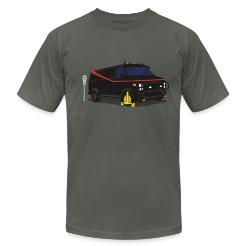 A-Team Van Wheel Clamp - Men's  Jersey T-Shirt