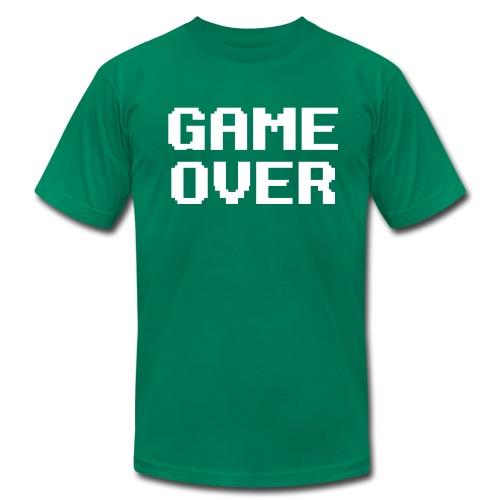 Game Over T-Shirt - Men's Fine Jersey T-Shirt