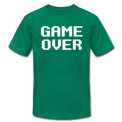 Game Over T-Shirt - Men's  Jersey T-Shirt