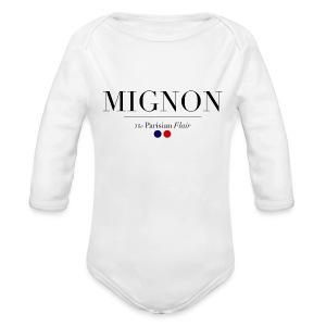 Baby Mignon  - Long Sleeve Baby Bodysuit