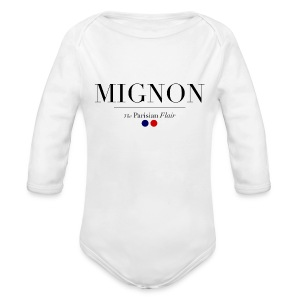 Baby Mignon  - Long Sleeve Baby Bodysuit