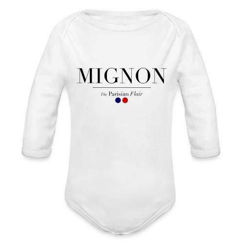 Baby Mignon  - Organic Long Sleeve Baby Bodysuit