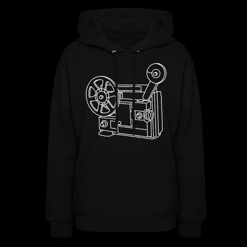 Movie Projector Super 8 - Women's Hoodie
