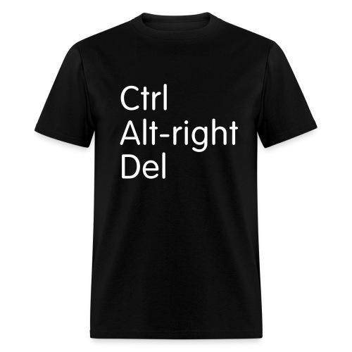 Ctrl Alt-right Del - Men's T-Shirt