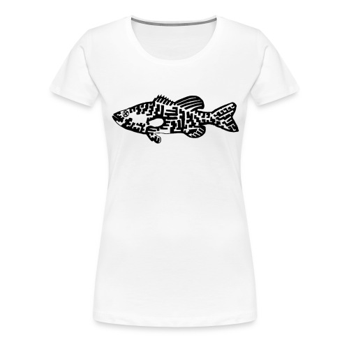 Women's Premium T-Shirt Bass - Women's Premium T-Shirt