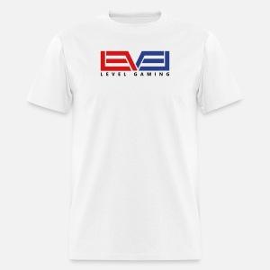 Level Gaming Tee - Black Print - Men's T-Shirt