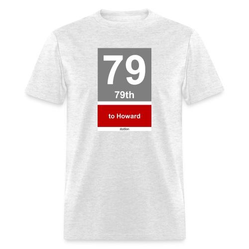 CTA Red Line - Men's T-Shirt - Men's T-Shirt