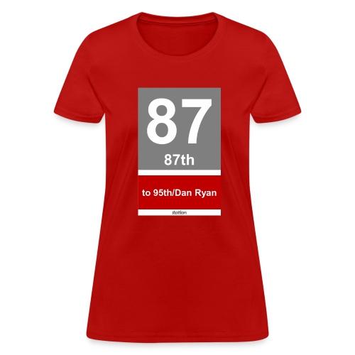 CTA Red Line - Women's T-Shirt - Women's T-Shirt
