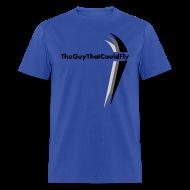 T-Shirts ~ Men's T-Shirt ~ TheGuyThatCouldFly Tshirt (black pg logo)