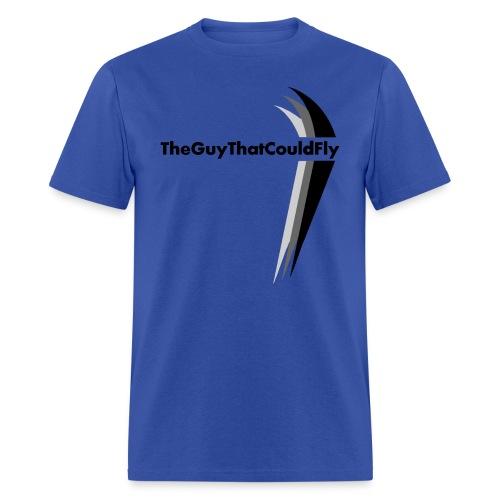 TheGuyThatCouldFly Tshirt (black pg logo) - Men's T-Shirt