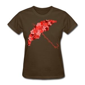 Flower 'Brella - Women's T-Shirt