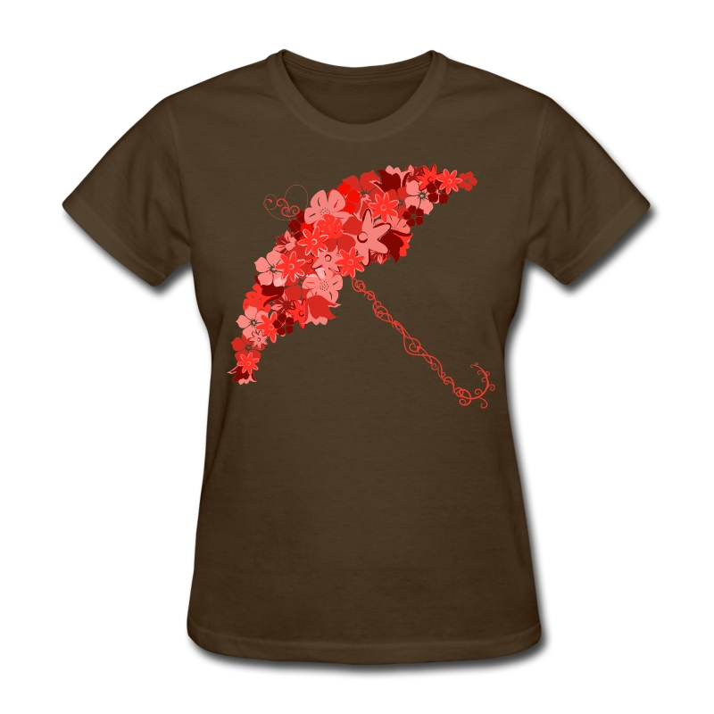 Flower 'Brella - Women's T-Shirt