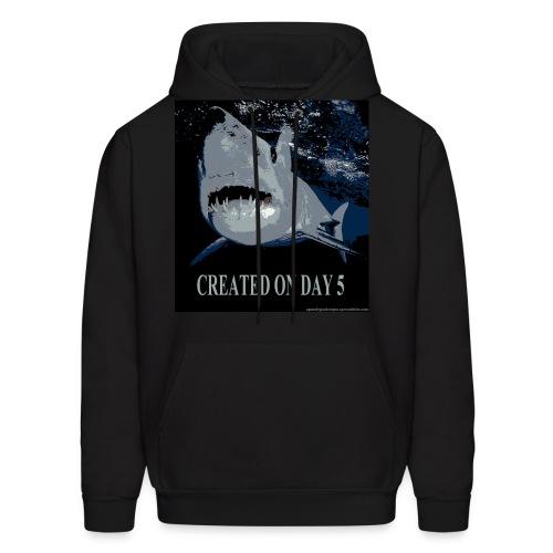 Shark - Created Day 5 - Men's Hoodie