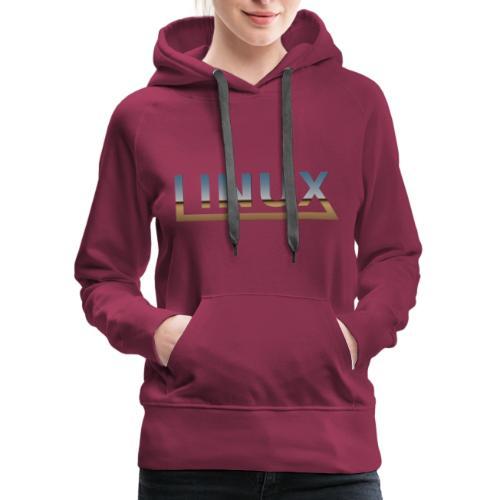 Linux - Women's Premium Hoodie
